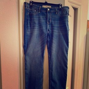 HOLLISTER skinny jeans medium blue
